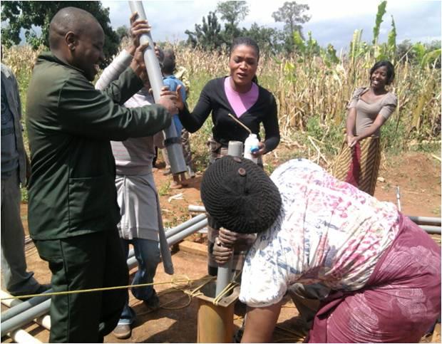 2014 07 14 Malawi Borehole Picture #2