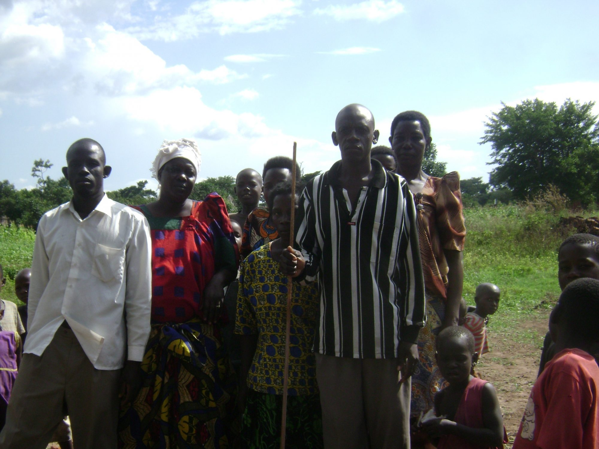 Some members of the Budumba Water User Committee