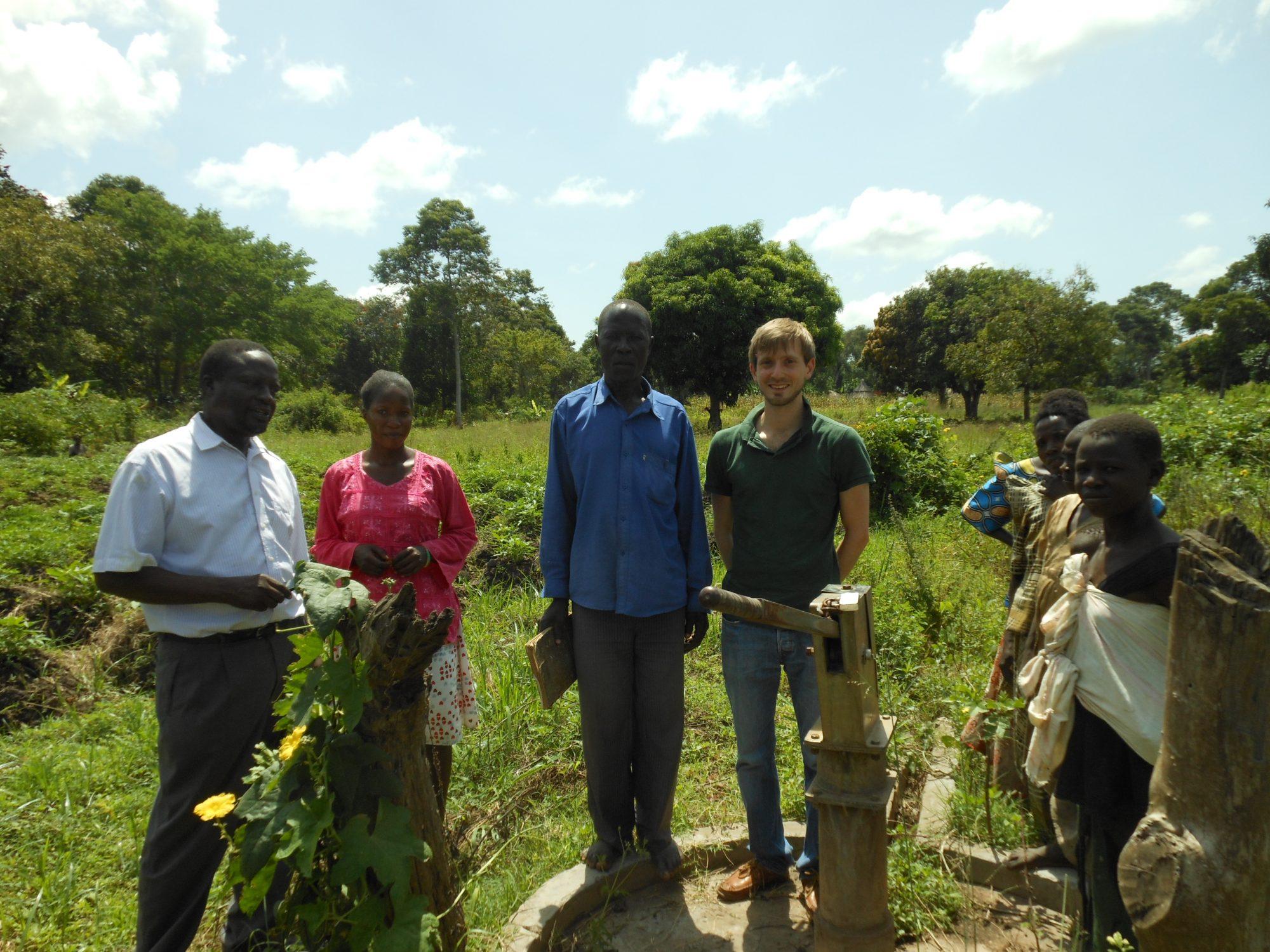 CO2balance and WAACHA visiting boreholes in need of repair